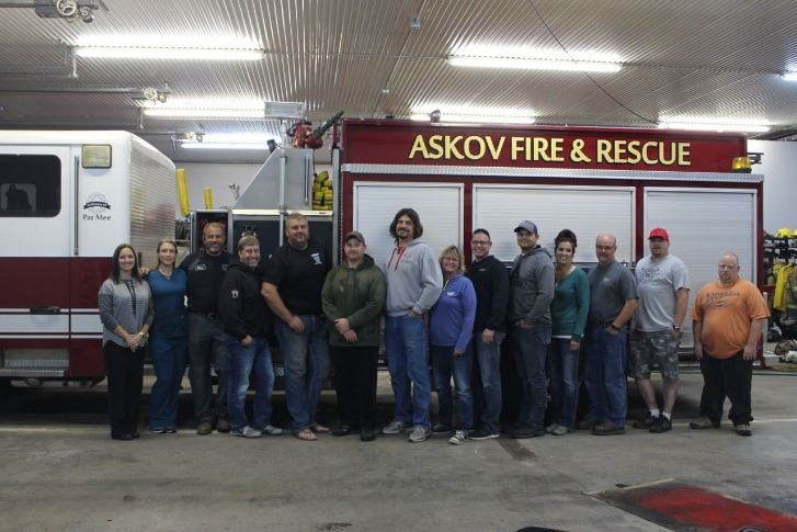 Askov Fire and Rescue Staff