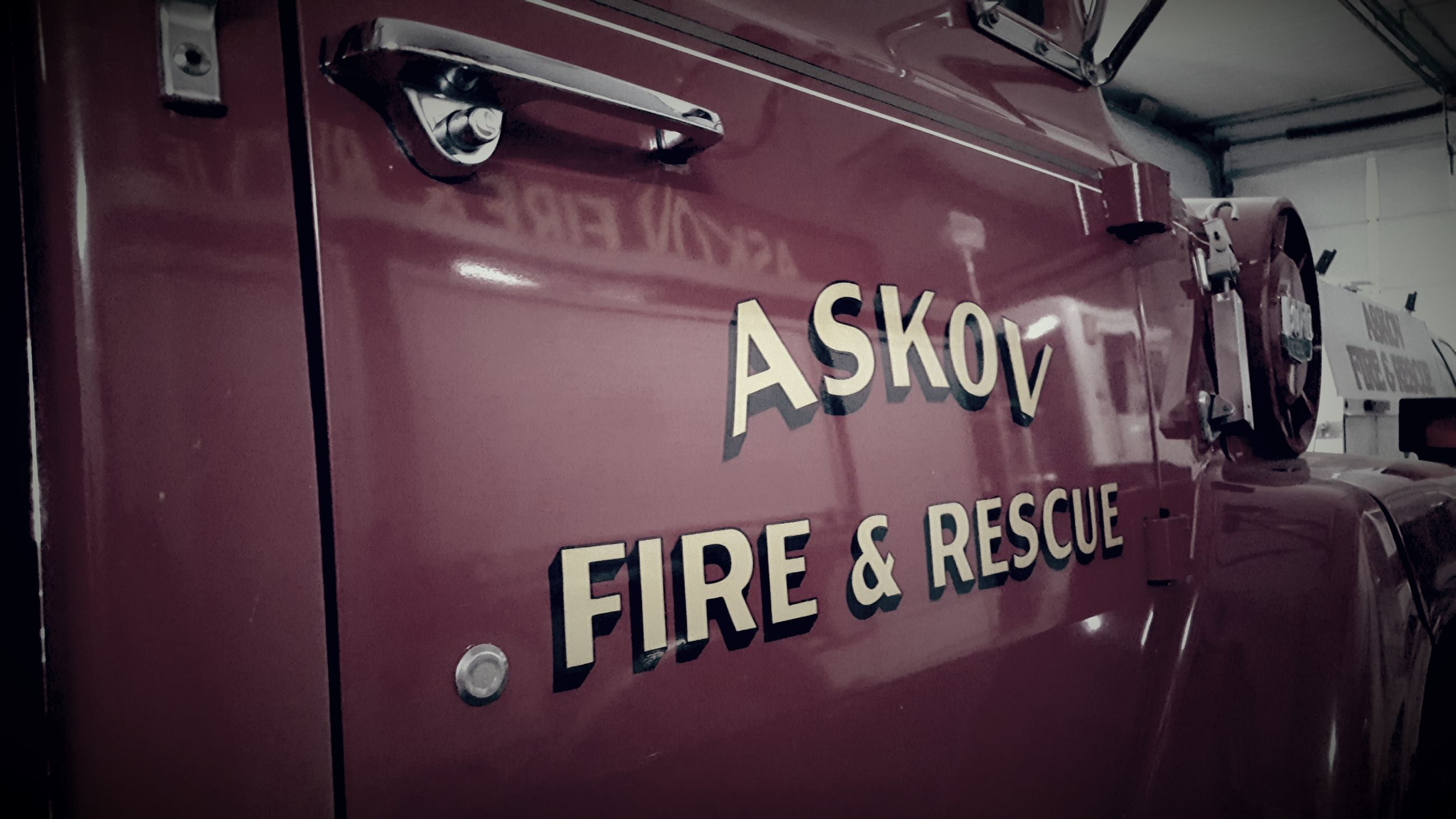 Askov Fire and Rescue Fire Truck