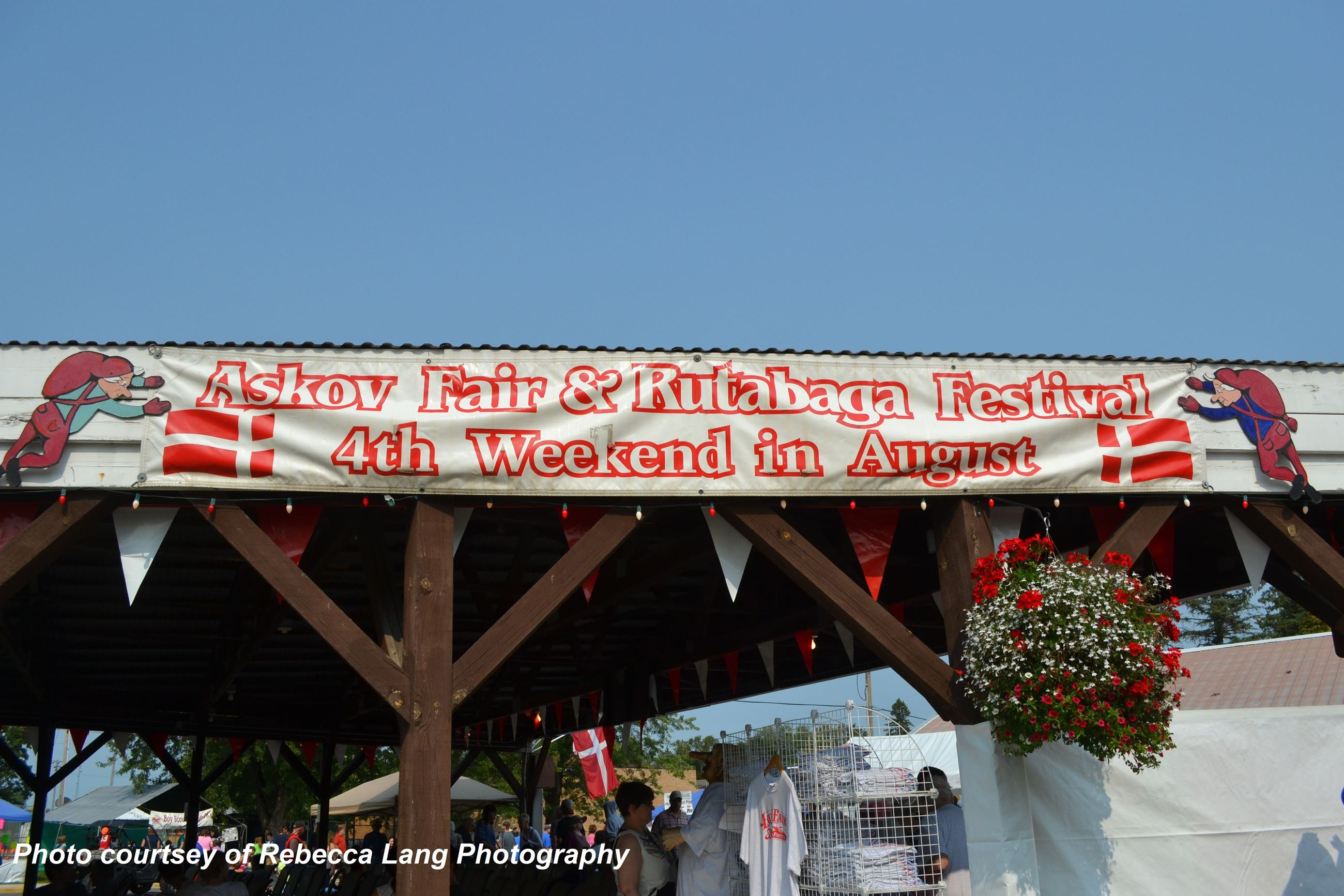 Askov Fair and Rutabaga Festival Banner